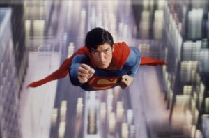 Christopher Reeve played the character, then became Superman himself.