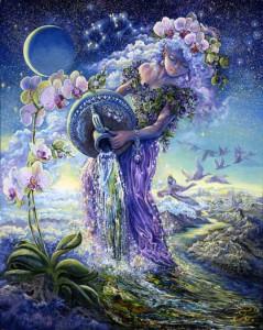 Aquarius, by Josephine Wall.