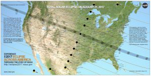 Path of the Aug 21 2017 Eclipse