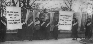Activists for Women's Suffrage